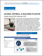 Global Drywall & Building Plaster - Demand and Sales Forecasts, Market Share, Market Size, Market Leaders