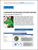 Cannabis Packaging Opportunities - Demand and Sales Forecasts, Market Share, Market Size, Market Leaders