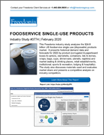 Foodservice Single-Use Products - The Freedonia Group - Industry Market Research