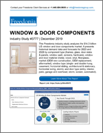 Window & Door Components - Demand and Sales Forecasts, Market Share, Market Size, Market Leaders