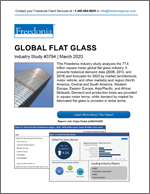 Global Flat Glass - Demand and Sales Forecasts, Market Share, Market Size, Market Leaders