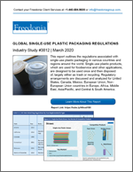 Global Single-Use Plastic Packaging Regulations - The Freedonia Group - Industry Market Research