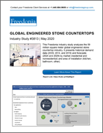 Global Engineered Stone Countertops - The Freedonia Group - Industry Market Research
