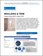 Moulding & Trim - Demand and Sales Forecasts, Market Share, Market Size, Market Leaders