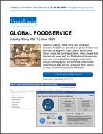 Global Foodservice - Demand and Sales Forecasts, Market Share, Market Size, Market Leaders