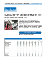 Global Motor Vehicle Outlook 2020 - The Freedonia Group - Industry Market Research