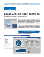 Liquid-Applied Roof Coatings - The Freedonia Group - Industry Market Research