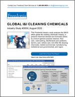 Global Industrial & Institutional Cleaning Chemicals - The Freedonia Group - Industry Market Research