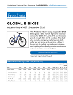 Global E-Bikes - Demand and Sales Forecasts, Market Share, Market Size, Market Leaders