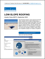 Low-Slope Roofing - The Freedonia Group - Industry Market Research