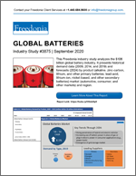 Global Batteries  - The Freedonia Group - Industry Market Research