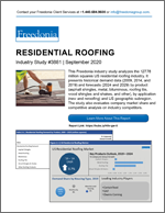 Residential Roofing - The Freedonia Group - Industry Market Research