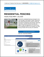 Residential Fencing - The Freedonia Group - Industry Market Research