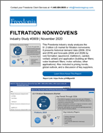 Filtration Nonwovens - The Freedonia Group - Industry Market Research
