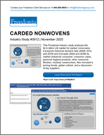 Carded Nonwovens - The Freedonia Group - Industry Market Research