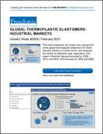 Global Thermoplastic Elastomers: Industrial Markets - Demand and Sales Forecasts, Market Share, Market Size, Market Leaders