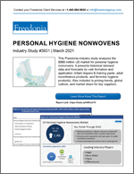 Personal Hygiene Nonwovens - Demand and Sales Forecasts, Market Share, Market Size, Market Leaders