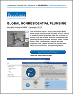Global Nonresidential Plumbing - Demand and Sales Forecasts, Market Share, Market Size, Market Leaders