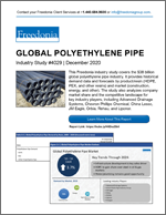 Global Polyethylene Pipe - The Freedonia Group - Industry Market Research