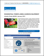 Residential Lawn & Garden Equipment - Demand and Sales Forecasts, Market Share, Market Size, Market Leaders