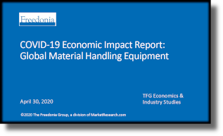 COVID-19 Economic Impact Report: Global Material Handling Equipment - The Freedonia Group - Industry Market Research