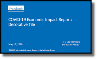 COVID-19 Economic Impact Report: Decorative Tile - The Freedonia Group - Industry Market Research