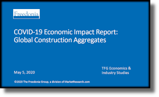 COVID-19 Economic Impact Report: Global Construction Aggregates - The Freedonia Group - Industry Market Research
