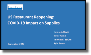 US Restaurant Reopening: COVID-19 Impact on Supplies - The Freedonia Group - Industry Market Research