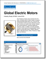 Global Electric Motors - The Freedonia Group - Industry Market Research